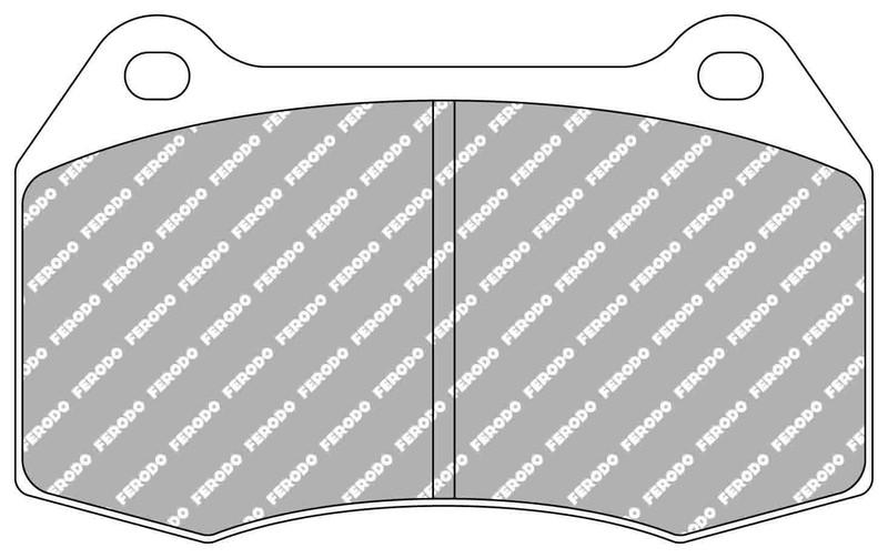 Pastillas de alto rendimiento Ferodo Racing DS2500 FCP29H